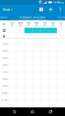 Stock calendar apps