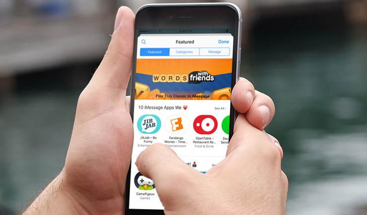 Les meilleures applications iMessages