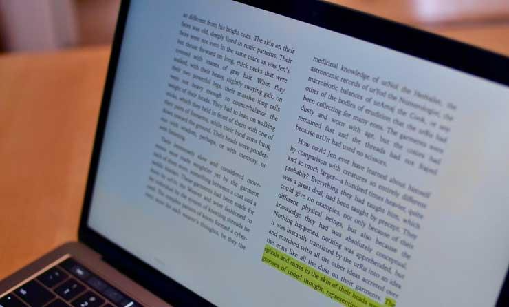 Les 5 meilleures applications de lecture sur Mac