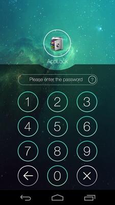 Applock mot de passe