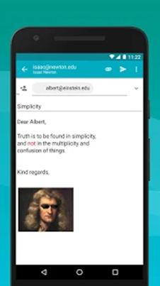 Aqua Mail images