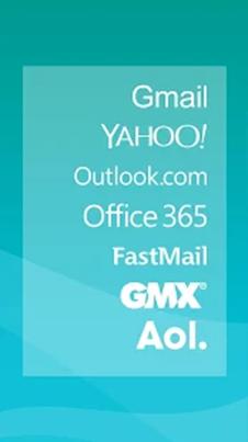 Aqua Mail interface