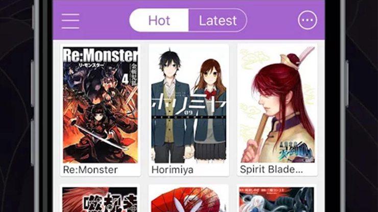 meilleures applications de manga pour Android