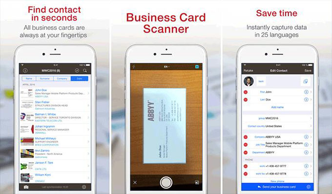 Business Card Reader Plus