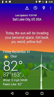 What The Forecast ?!!