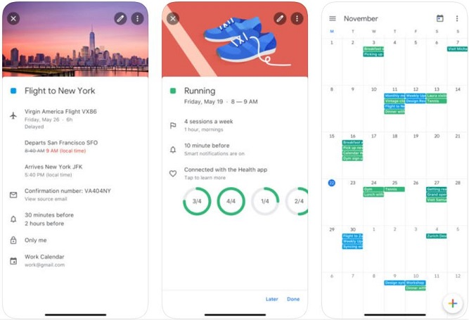 Google Agenda Image