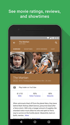 Google Assistant cinéma