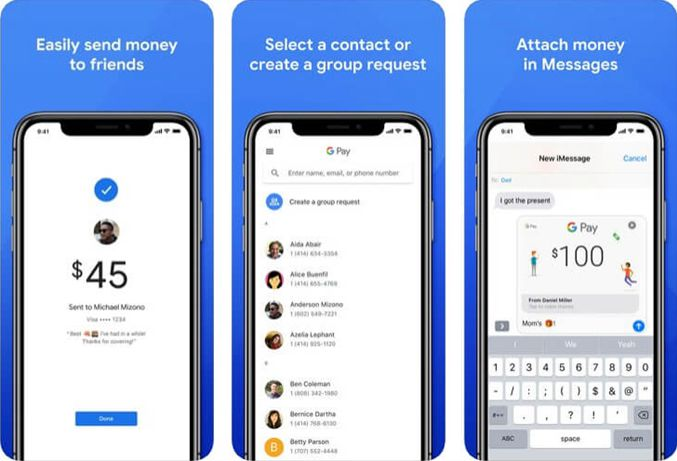 fonction et advantage de Google Pay