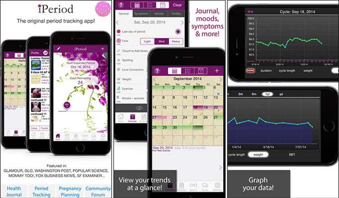 iPeriod Period Tracker