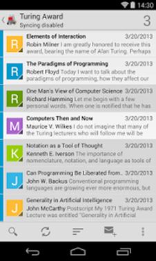 K-9 Mail profile