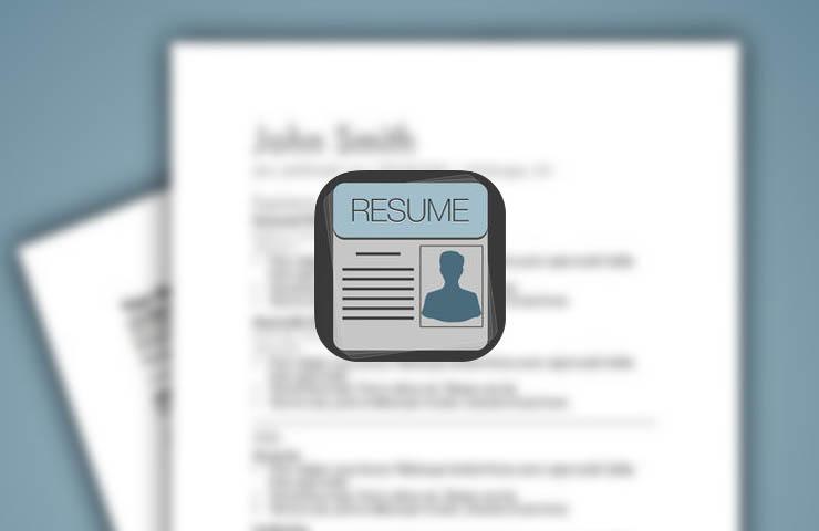 Les apps pour créer votre CV