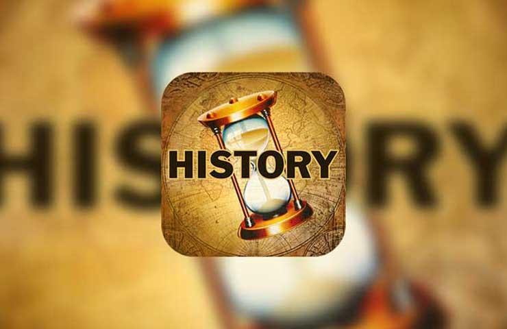 Top 10 des meilleures applications d'Histoire sous iOS