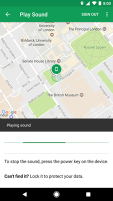 Find My Device by Google