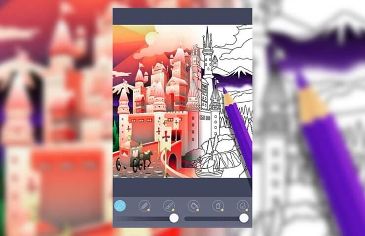 meilleures applications de coloriage pour iPhone et iPad