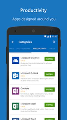 Microsoft Apps productivité
