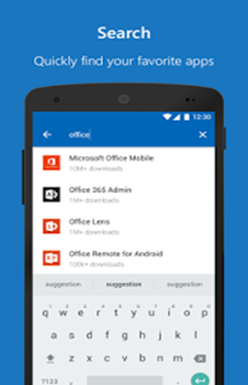 Microsoft Apps search