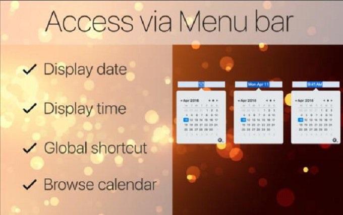 Mini Calendar image