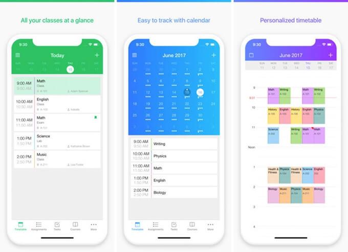 Pocket Schedule Planner