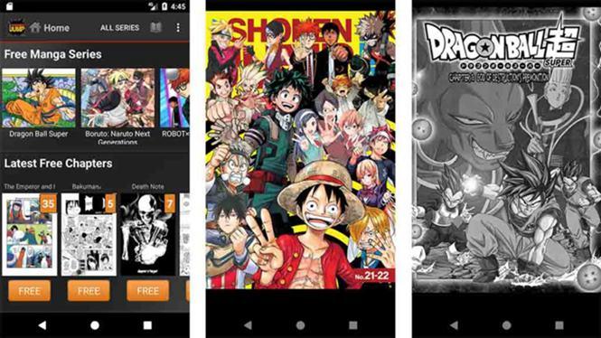 Viz Media manga apps