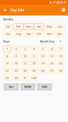 Tasker calendrier