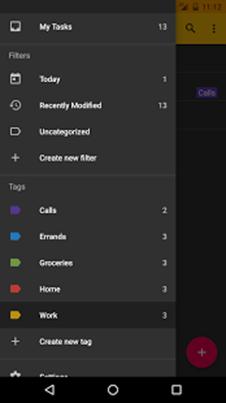 Tasks - Astrid To Do List Clone