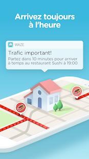 Waze - application Android pour les conducteurs